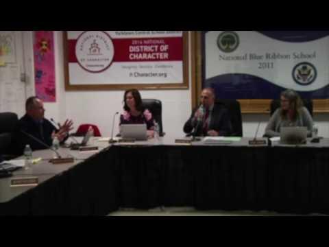 Yorktown CSD BOE Meeting Testimonial - November 30, 2016