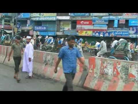 On the streets of Bangladesh.