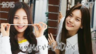 GFRIEND MV EVOLUTION | UMJI (엄지)