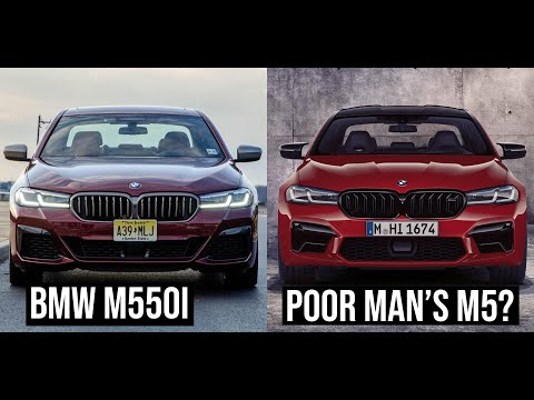 2021 BMW M550i xDrive - Poor Man's M5? | TEST DRIVE & REVIEW