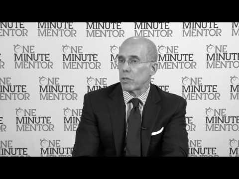 Hearst One Minute Mentor: Jeffrey Katzenberg on Balance