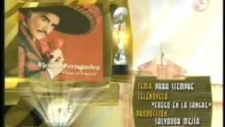 Vicente Fernández - Premios OYE (Tema de Telenovela del Año)