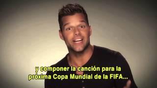 Ricky Martin no cantará la canción oficial del Mundial Brasil 2014