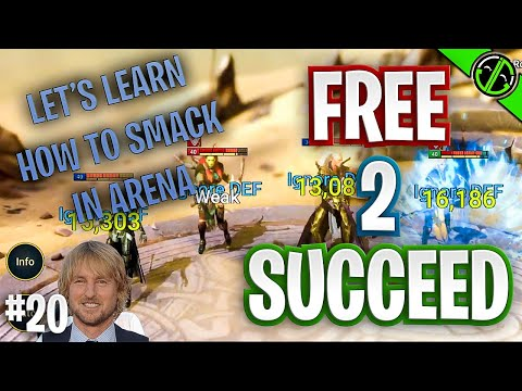 RAID | Early Game Arena - How to Cleave | Free 2 Succeed - EPISODE 20