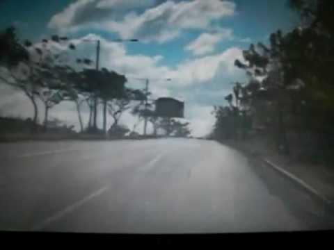 Managua Nicaragua carretera sur y suburbana  en carro