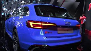 Audi RS4 Avant   IAA 2017 width=