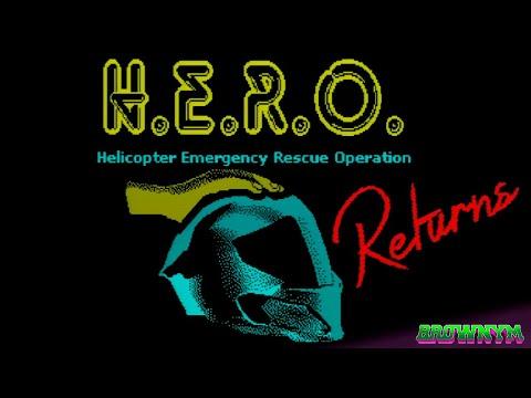 H.E.R.O. Returns [Dr. Gusman] 2020 - #ZXSpectrum