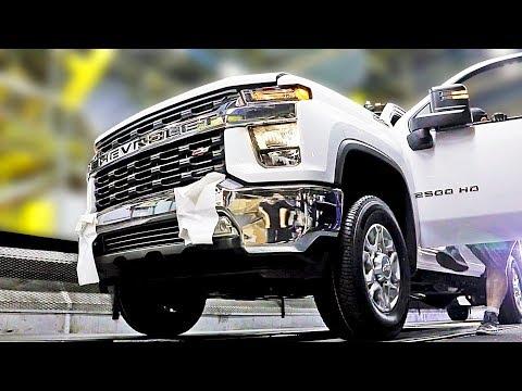 Pickup Truck Factory ? 2020 Chevrolet Silverado and 2020 GMC Sierra