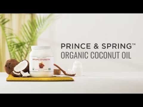 Introducing...Prince & Spring Organic Coconut Oil