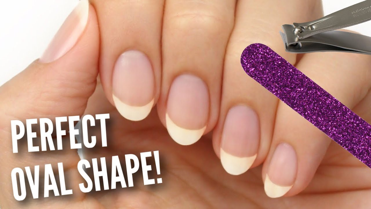 Shape Your Nails Perfectly Oval!   Tips, Tricks, and Nail Care!