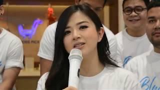 Franda Terima Tantangan Nyanyi Di depan Insan Pers