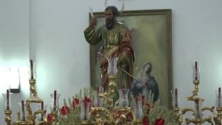 El canto a San Bartolomé en Nerva