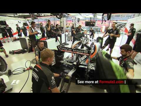 """How Do You Start A Formula 1 Car"""""""