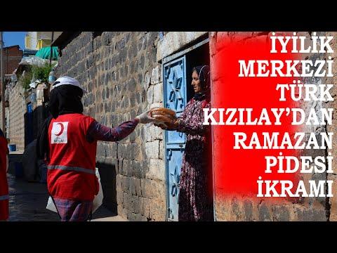 Kızılay'dan Vatandaşlara Ramazan Pidesi İkramı