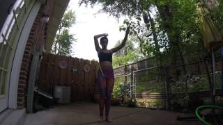 Hoop Dance to Just Jammin by Gramatik