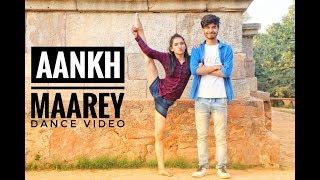 Steps on #SIMMBA - Aankh Mare Ladki Aankh Mare Dance  🖤 l Neha kakkar l choreography  Mohit Gaur