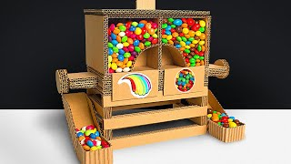 How to Make Amazing Candy Dispenser from Cardboard