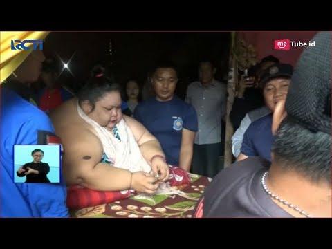 Download Video Evakuasi Titi, Wanita Obesitas 350 Kg Dibantu 20 Orang Hingga Jebol Jendela Rumah - SIS 11/01