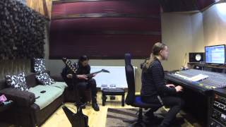 Nightside Glance — Guitars Recording, 2014 Monroe Sound Studio, Poland