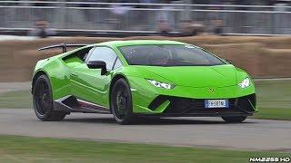 Lamborghini Huracan Performante LOUD Sounds! – AWD Burnout, Launch Control, Revs  More!