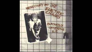WAYNE COUNTY & THE ELECTRIC CHAIRS - Fuck Off