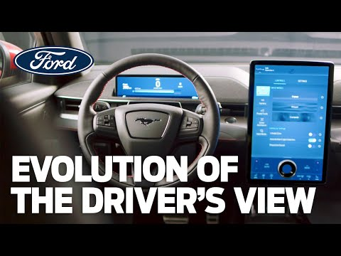 The evolution of the driver's view