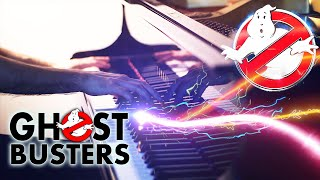 """""""GHOSTBUSTERS"""" PIANO COVER (2016)  [Creepy HORROR Version, Arrangement from MOVIE MAIN THEME]"""