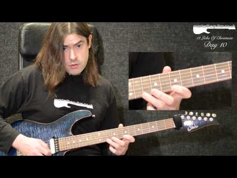 Lick Lesson - Phrygian Dominant Sweep Lick - 12LOC Day 10