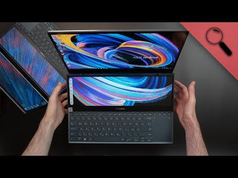 A KÉT KIJELZŐS csodák | ZenBook Pro DUO 2021!