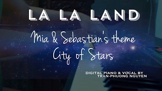 "La La Land Mia & Sebastian's piano theme & ""City of Stars"" cover"