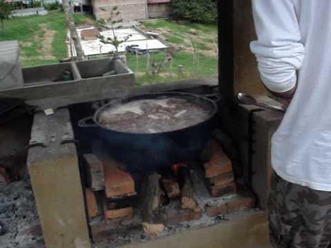 Finca El Peten, Nicaragua.  Soup's ON!