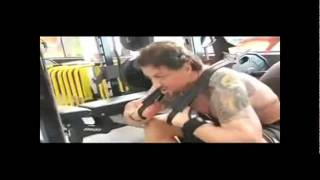 Stallone training 2011 - Rocky 3 - Eye of the Tiger - movie version