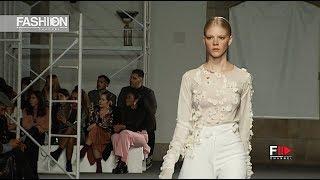 ALESSIA SCASSERRA Milano Moda Graduate 2019 Spring 2020 Portugal - Fashion Channel