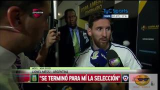 Lionel Messi Announces He Is Retiring From International Football-Reaction By REACT WORLD|Messi