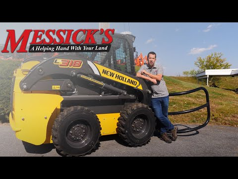 New Holland 300 series EH control improvements Picture