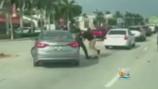 Video: Road Rage Fight Gets Physical In Hialeah