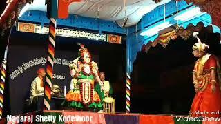 Yakshagana - Shwetha Kumara Charithre Rathnakar Hegde As Shwetha Kumara