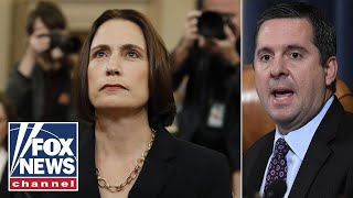 Nunes presses Fiona Hill over the Steele dossier and its origins
