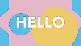 Sweet California - Hey Hola Hello (Lyric Video)