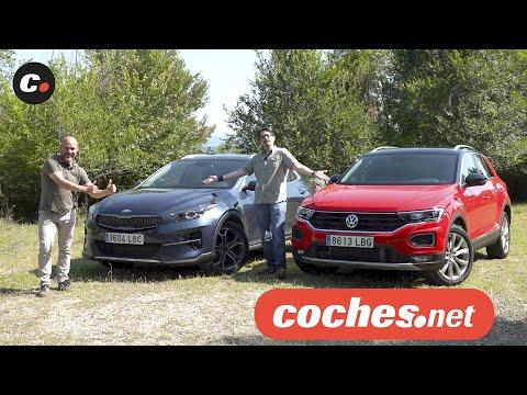 Kia XCEED vs Volkswagen T-ROC 2020 | Prueba Comparativa / Review en español | coches.net