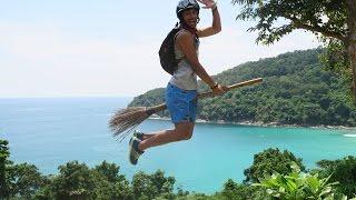 Exploring Phuket Island in 4K - تمشية في جزيرة فوكيت