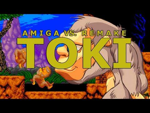 Toki: Amiga VS. Remake (1991-2019 Comparison) 1080p