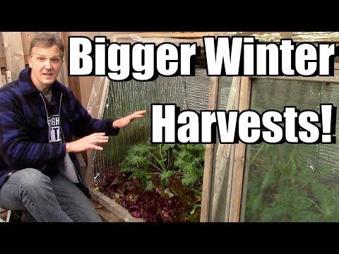 Bigger Winter Garden Harvests!