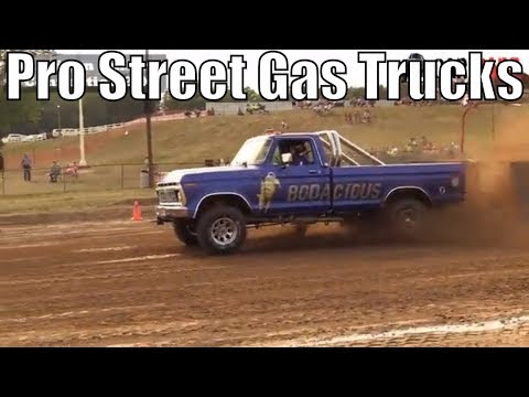 Pro Street Gas Truck Class From TTPA Truck Pulls In Corunna Michigan 2018