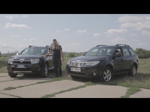 Dacia Duster kontra Subaru Forester - który używany SUV za 30 000 zł będzie lepszym wyborem