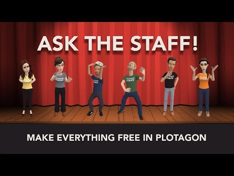Ask The Staff - Make everything free in Plotagon