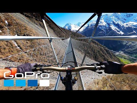 GoPro: MTB Through the French Alps with Kilian Bron