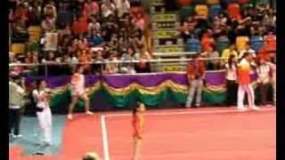 [2008.08.30] 國家金牌體操示範 - 小眯熱身