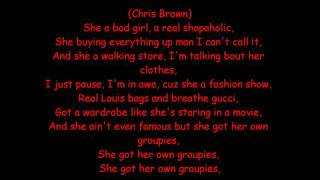 Rihanna ft. Chris Brown-Bad Girl with lyrics