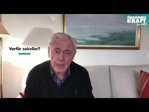 Intervju med vår solcellskund Åke Kronberg